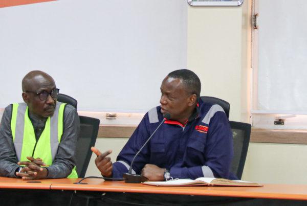 Mele Kyari Visit to Egbin Power